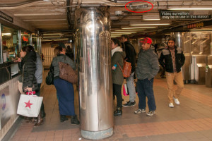 Covert Surveillance  in NyC Subway System