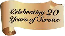 Celebrating 20 Years of Service